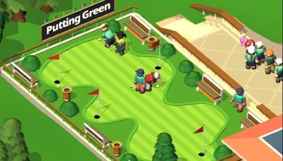 Idle Golf Club Manager Tycoon